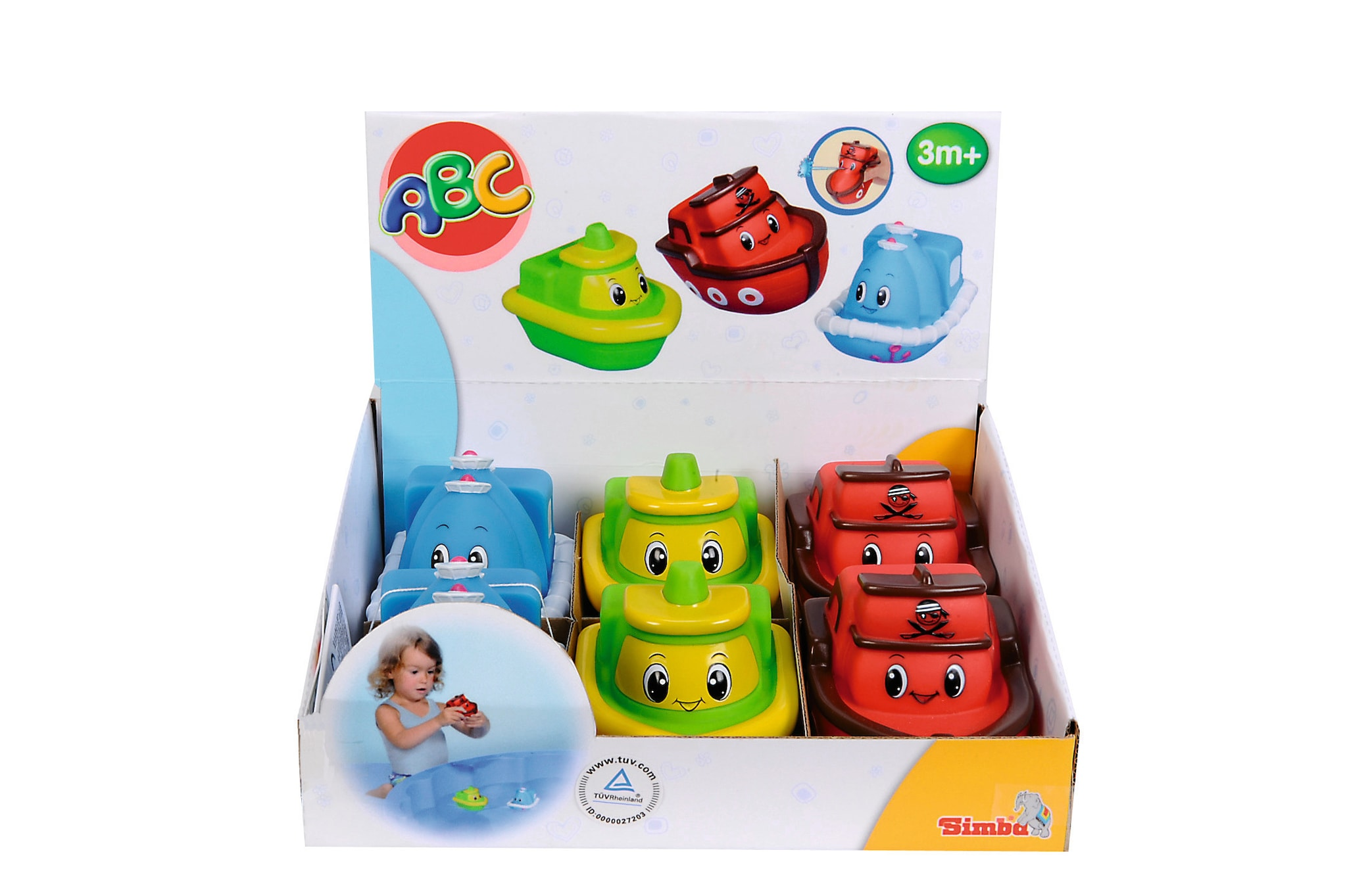 Simba Toy Bathing Boats 4019622