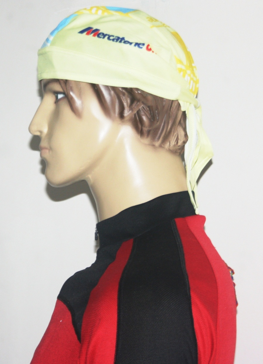 Adjustable Cycling Bandana (Yellow) (Yellow)