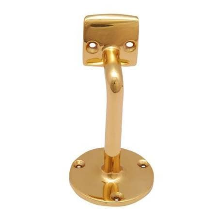 Adonai Hardware Long Brass Handrail Bracket