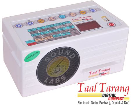 Taal Tarang Digital Compact, Electronic Tabla, Pakhawaj, Dholak & Duff