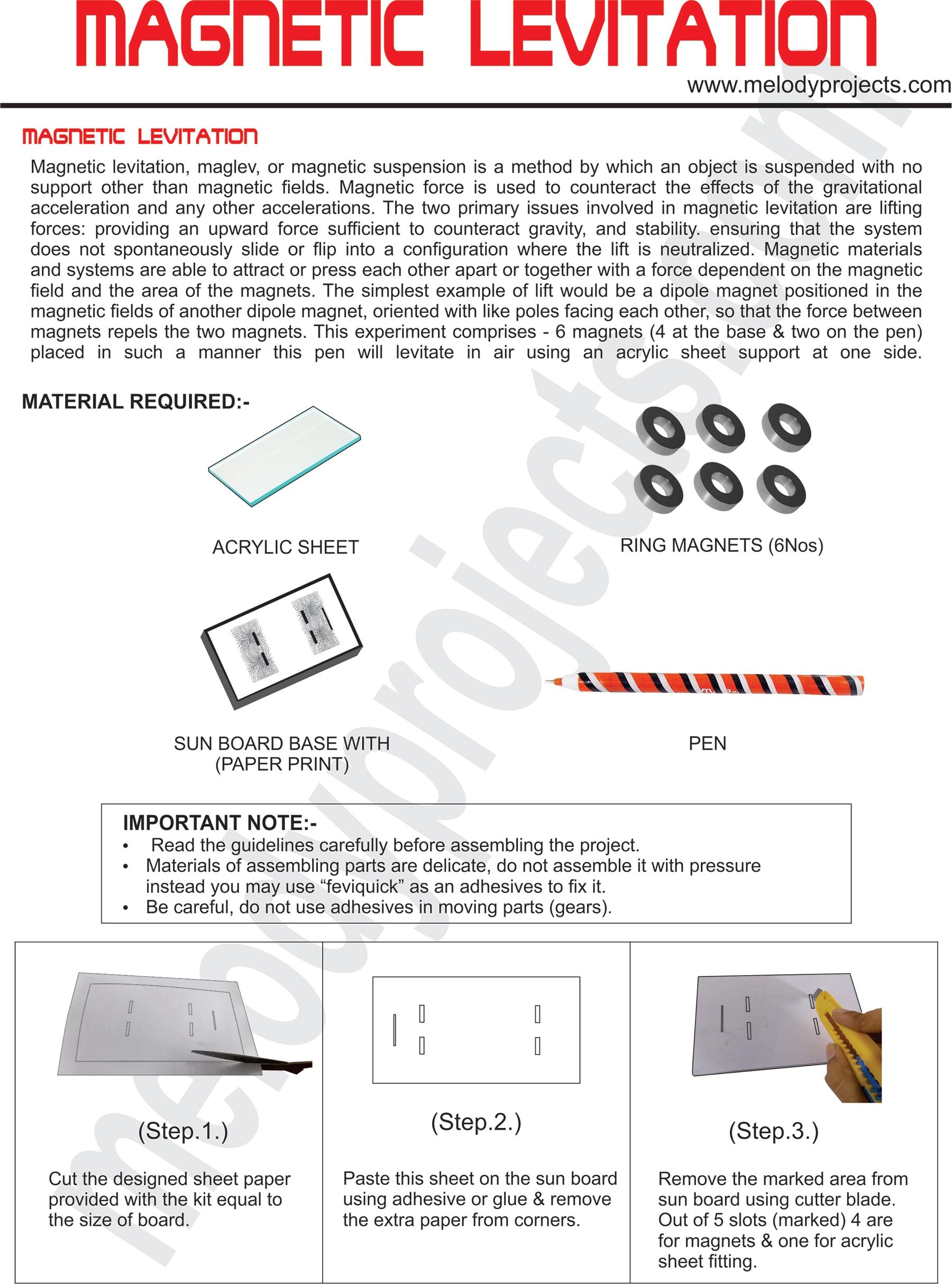 DIT-03- MAGNETIC LEVITATION