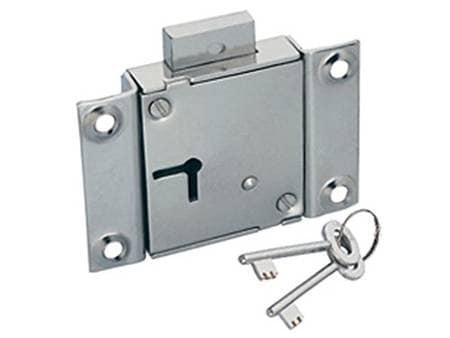 Godrej Universal Drawer Cupboard Lock Pack Of 3 (Three) Locks By Mansha Hardware