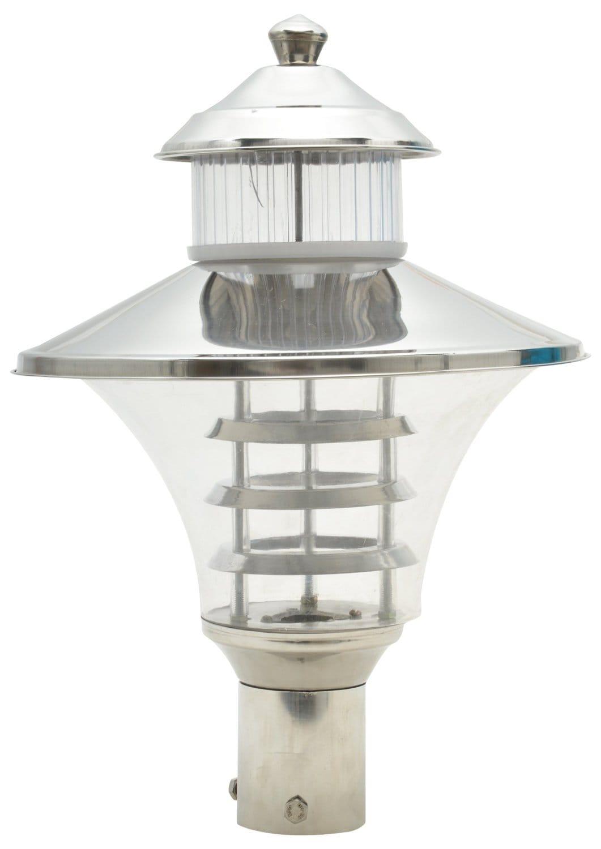 Glow Fixtures Garden Gate Light Regalia Steel -- Product Code: GL656ABD-REG