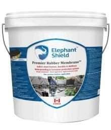 Elephant Shield Premier Rubber Membrane - Pro Grade For Long Lasting Waterproofing, 1 Ltr ( Free- Reinforcement Fabric 4 X 1mtr-2 Nos/Pack)