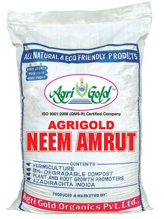 Agri Gold Neem Amrut Fertilizer 40 Kg HDPE - Fertilizer