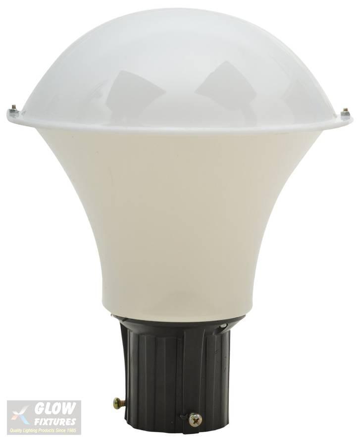 Glow Fixtures Garden Gate Light Fixture Taj Milky 8 -- Product Code: GL1177ABD-REG