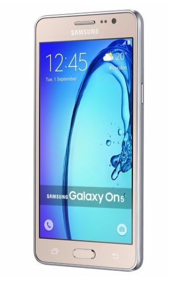 Samsung Galaxy On5 Pro SM-G550FZDGINS (RAM 2 GB, 16 GB, Gold)