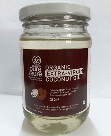 Pure & Sure Organic Coconut-Oil Extra Virgin