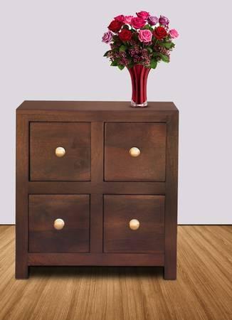 22e275622f1 Solid Wood Bedside Table In Teak Finish By Furniselan SKU-FS-00213-VAP-203