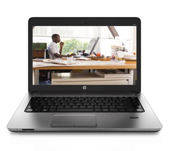 HP ProBook 440 G2 Notebook PC Laptop Metallic Gray [J8T89PT]