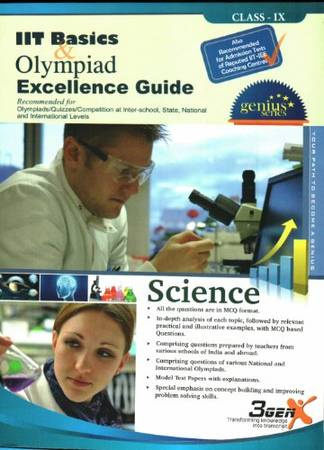 Silver Zone Olympiad Excellence Guide Science - IX - SCIENCE OLYMPAD -  Deepak Book Store
