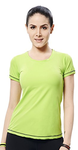 Restless Womens Breathable Fabric Top Green