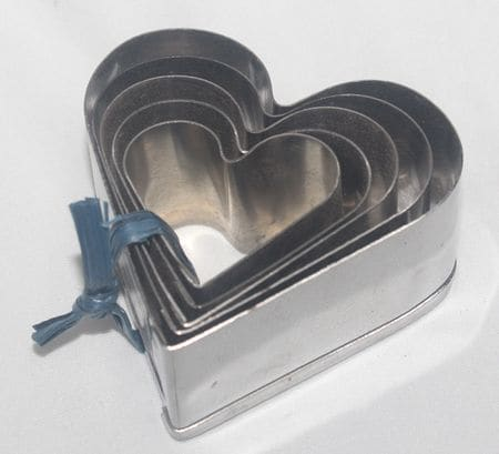 Cookie Cutter Heart SS 5 In 1