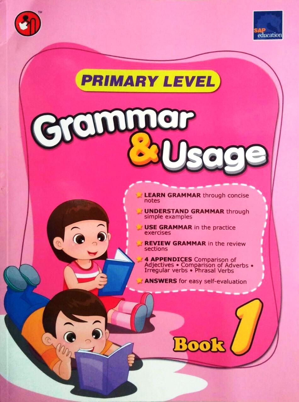 SAP Grammar & Usage Primary Level Book 1